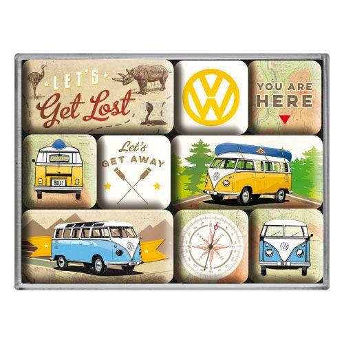 Magnet-Set-VW-lets get lost