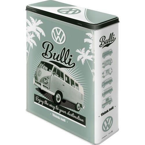 Vorratsdose-XL-VW-Retro-Bulli-vorn