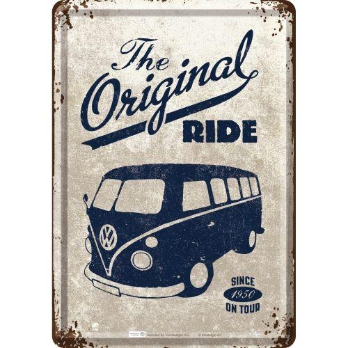 Blechpostkarte-VW-Bulli-The-Original-Ride