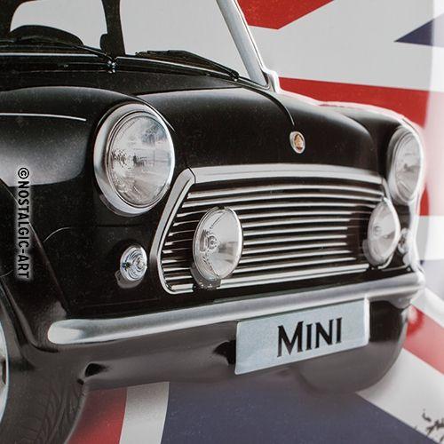 Blechschild-30x40-Mini-Perfectly-British-Detail