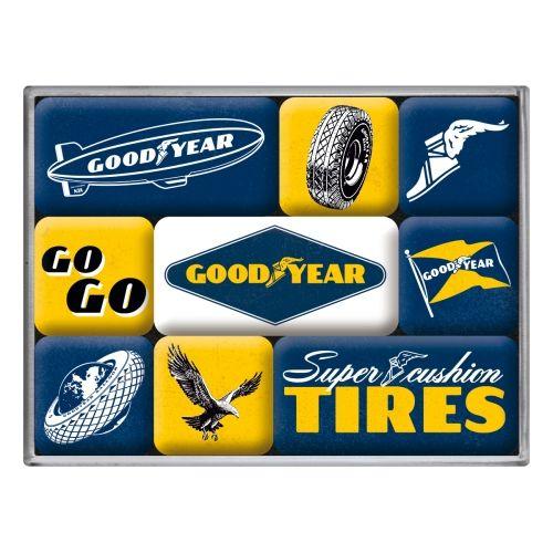 Magnet-Set-Goodyear-Logos-vorn
