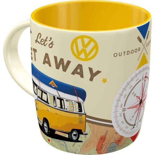 Tasse-VW-Bulli-Lets-camp-away-hinten