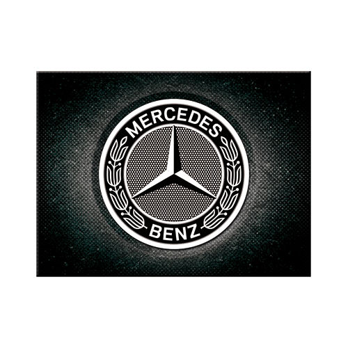 Magnet-Mercedes-Benz-Logo-Black