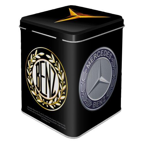 Teedose-Mercedes-Benz-Logo-Evolution